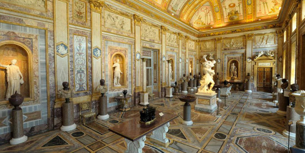 Borghese Gallery Rooms