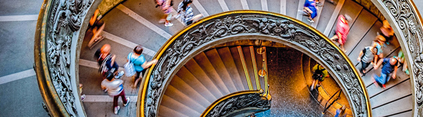 Vatican Museums Staircase