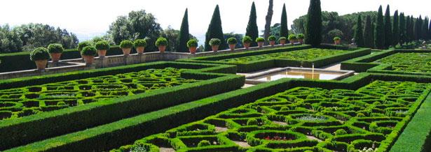 Resultado de imagen de jardines del vaticano